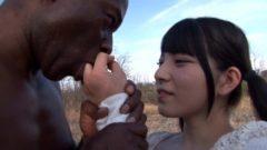 アフリカの原住民と野外セックス!日本人とは違うセックスに大興奮w上原亜衣